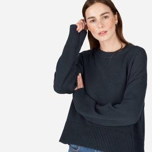 Everlane Soft Cotton Square Crew Sweater